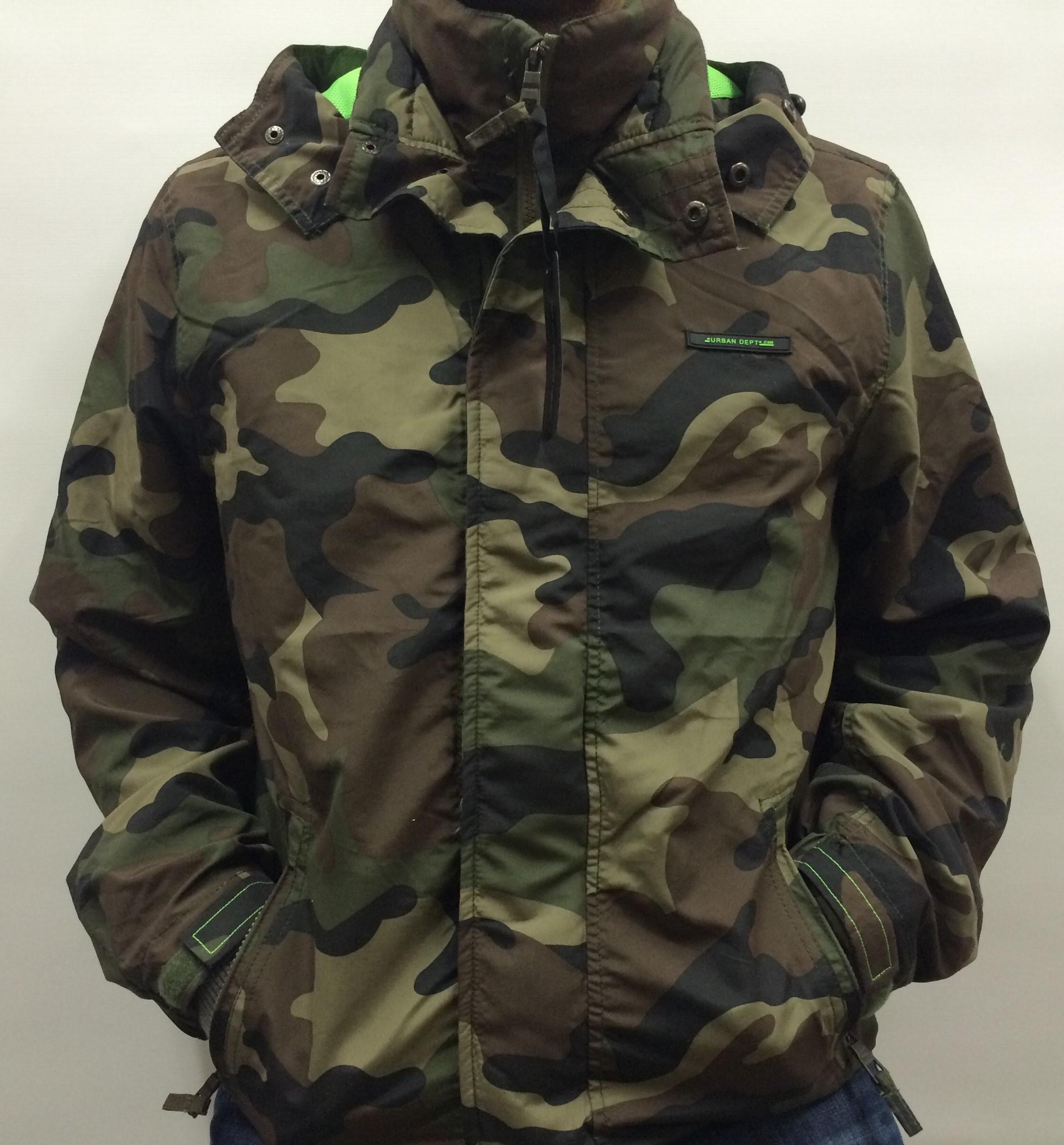 john devin windjacke herren gr xl jacke army bw militay tarn camouflage gr n neu ebay. Black Bedroom Furniture Sets. Home Design Ideas